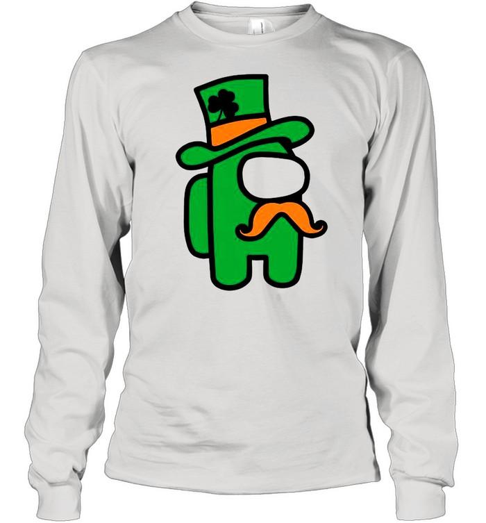 Green Among Us St Patricks Day 2021 shirt Long Sleeved T-shirt