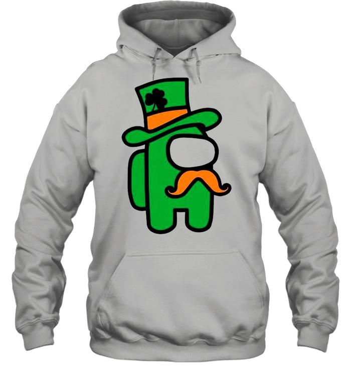 Green Among Us St Patricks Day 2021 shirt Unisex Hoodie