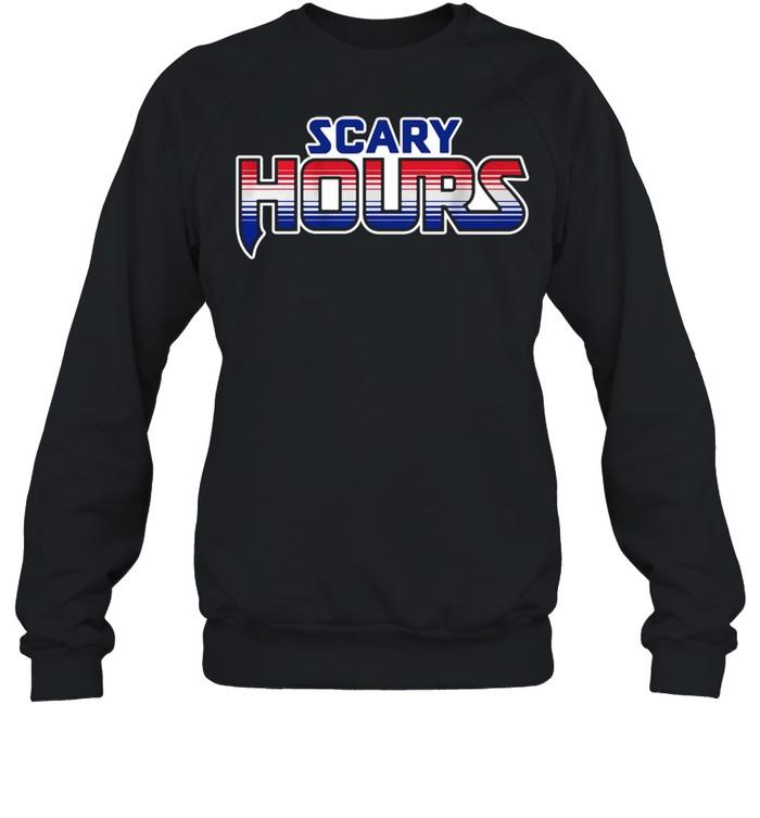 Scary hours shirt Unisex Sweatshirt