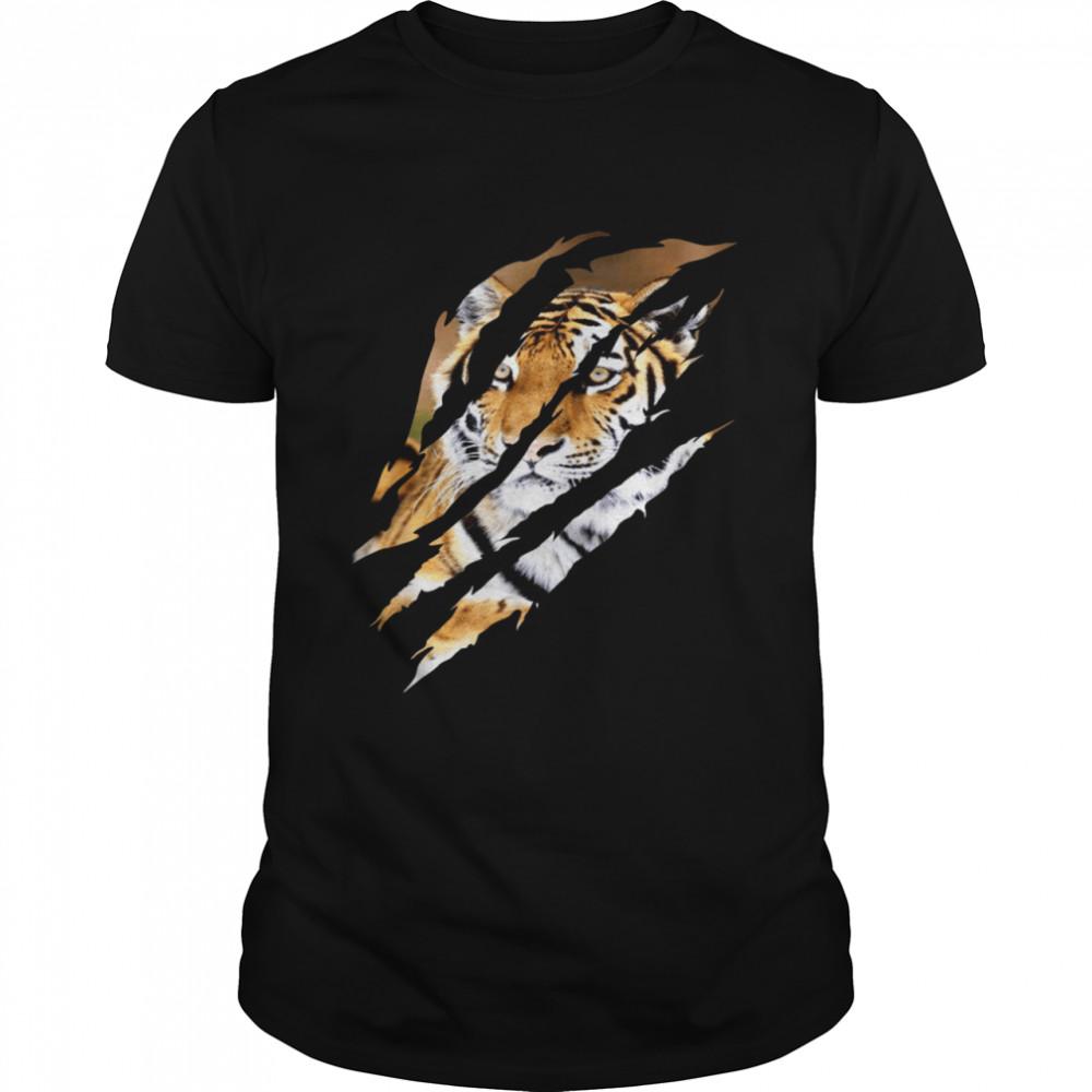 Leopard Cheetah Tiger Leopard Face Lion Cat Apparel shirt