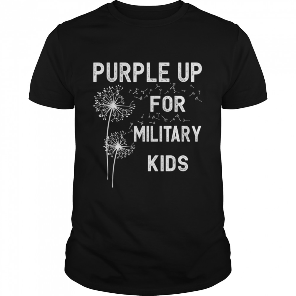 Purple Up for Military Month of the Military Child shirt