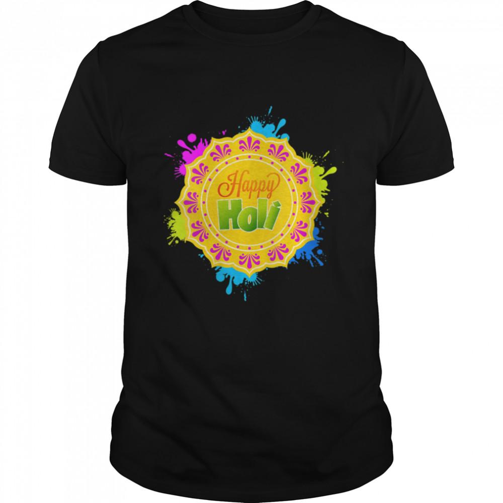 Happy Holi Festival 2021 India Hindu Spring shirt