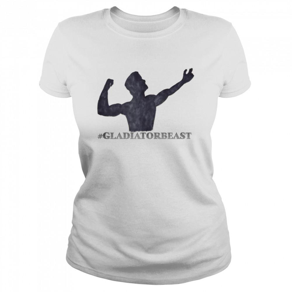 #GLADIATORBEAST shirt Classic Women's T-shirt