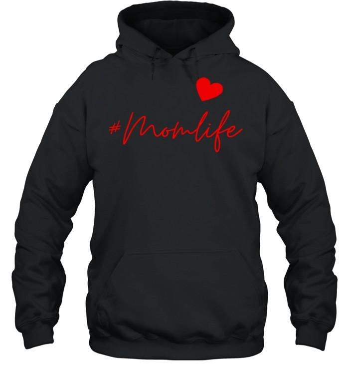 #Momlife shirt Unisex Hoodie