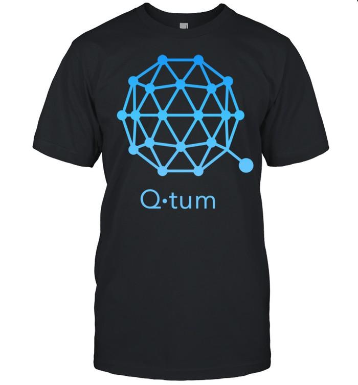 QTUM Crypto Blockchain technology Decentralized Finance DEFI Shirt
