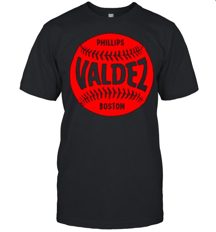 Boston Baseball Phillips Valdez shirt