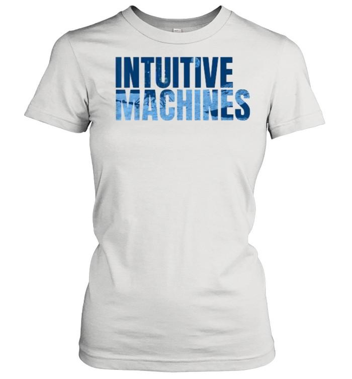 Intuitive Machines Blue  Classic Women's T-shirt