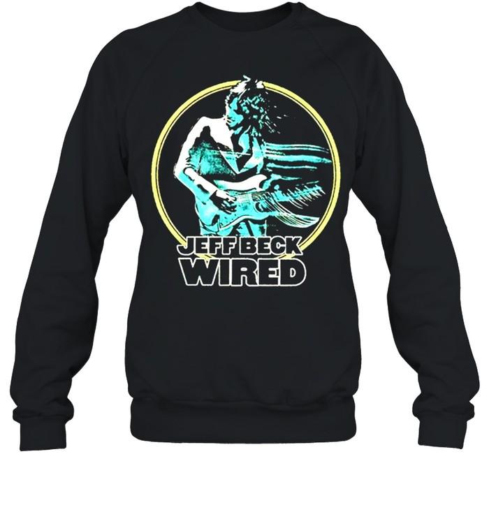 Jeff Beck wired shirt Unisex Sweatshirt