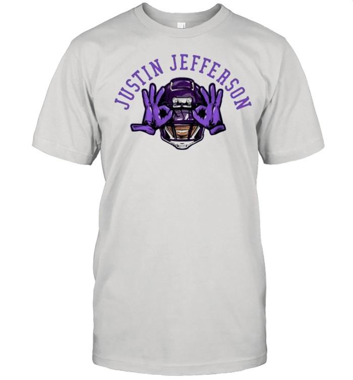 Justin jefferson Vikings football shirt