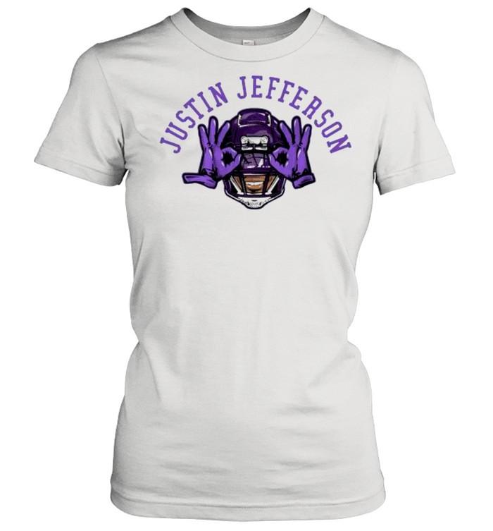 Justin jefferson Vikings football shirt Classic Women's T-shirt