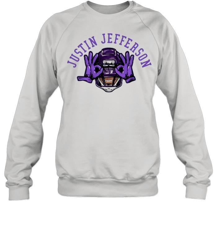 Justin jefferson Vikings football shirt Unisex Sweatshirt