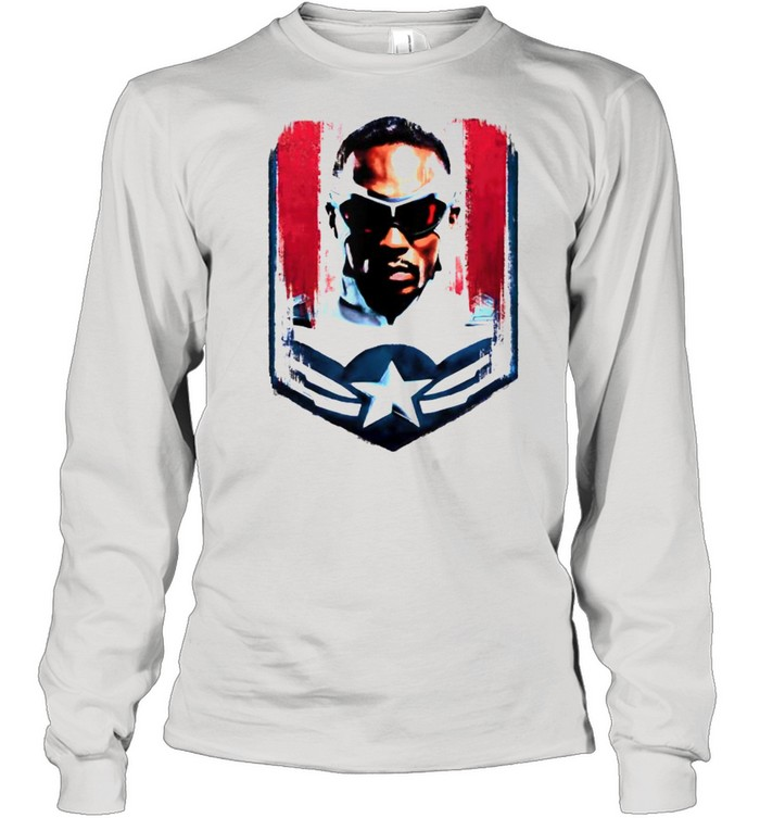 Marvel The Falcon and the Winter Soldier Sam Captain America  Long Sleeved T-shirt