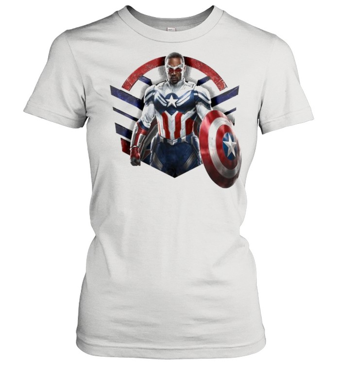 Marvel The Falcon the Winter Soldier Captain America Strong  Classic Women's T-shirt