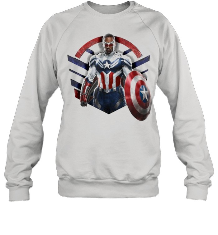 Marvel The Falcon the Winter Soldier Captain America Strong  Unisex Sweatshirt