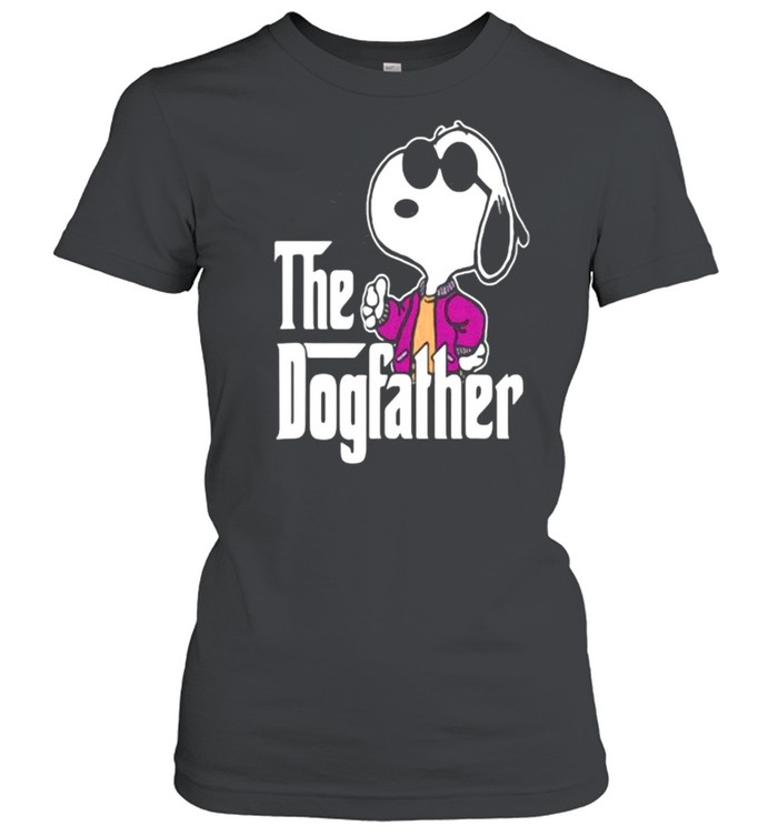 The Dogfather Snoopy  Classic Women's T-shirt