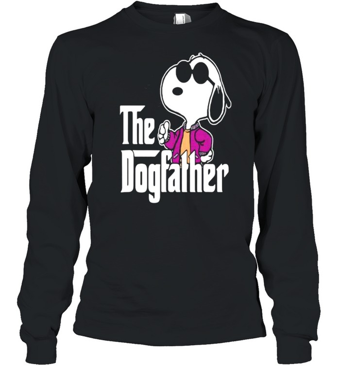 The Dogfather Snoopy  Long Sleeved T-shirt