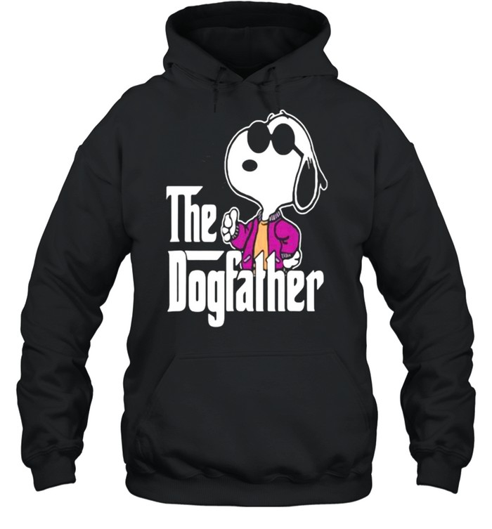 The Dogfather Snoopy  Unisex Hoodie