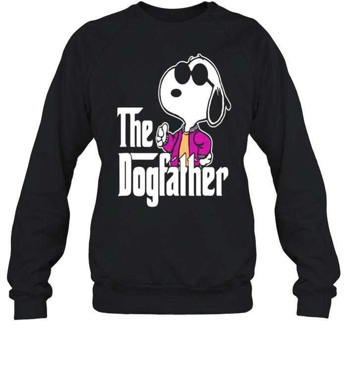 The Dogfather Snoopy  Unisex Sweatshirt
