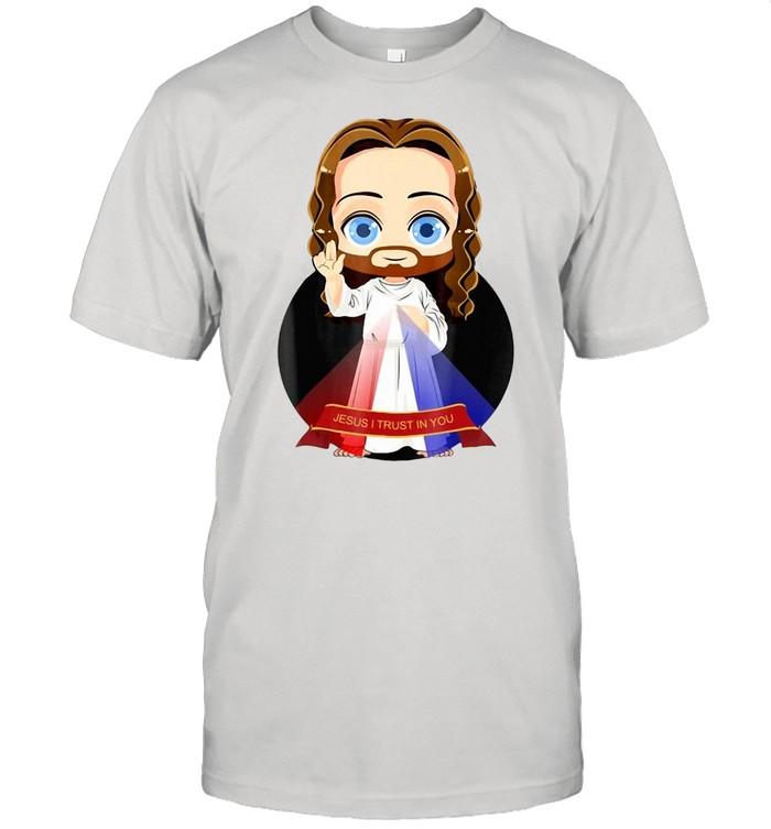 Jesus I Trust In You Divine Mercy T-shirt