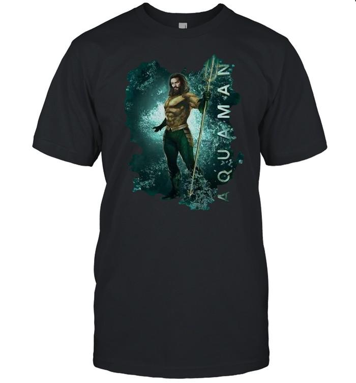 Atlantis Aquaman Logo Splash T-shirt