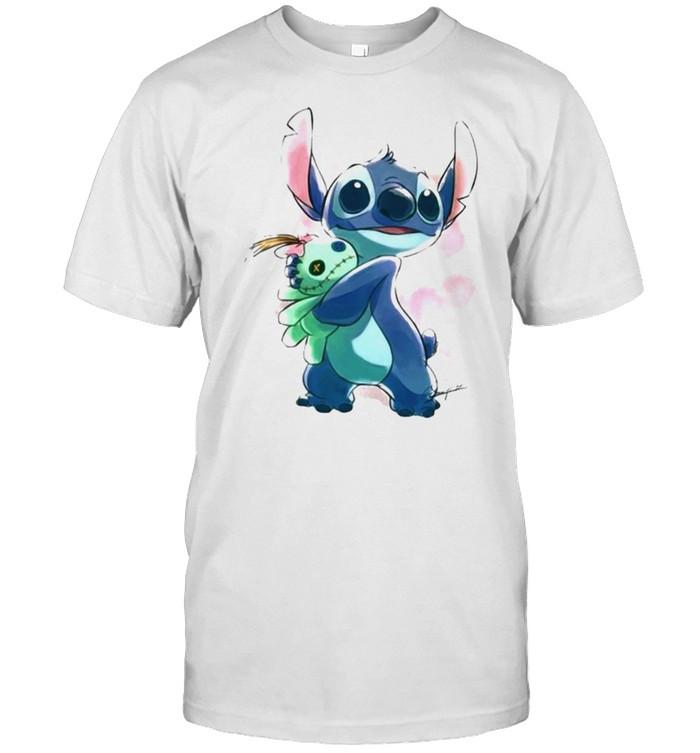 Love Stitch Watercolor Shirt