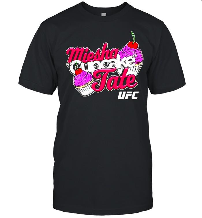 Miesha cupcake tate shirt