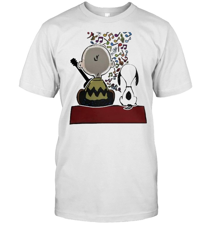 Friend And Snoopy Play Musical Shirt