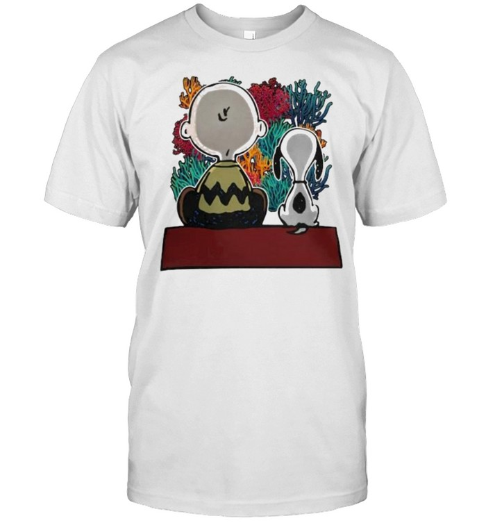 Snoopy And Friend See Ocean Shirt