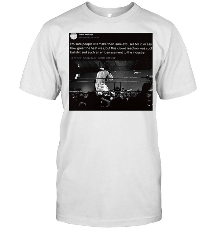 I'm Sure People Will Make Their Lame Excuses For It Or Say How Great The Heat Was T-shirt