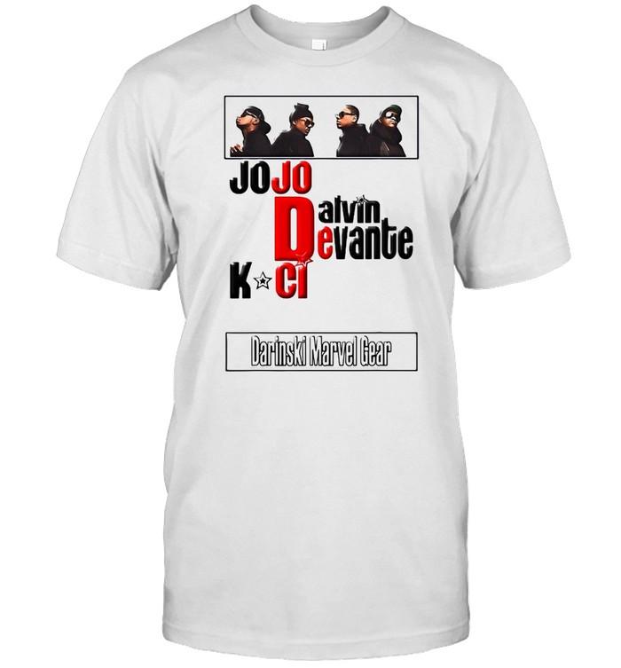 Jodeci The Bad Boys Of R&B T-shirt