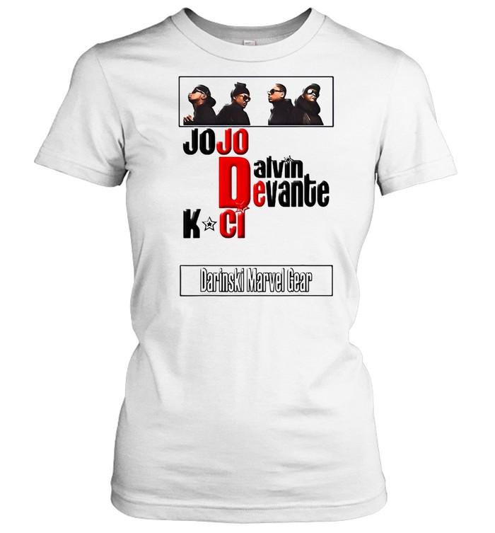 Jodeci The Bad Boys Of R&B T-shirt Classic Women's T-shirt