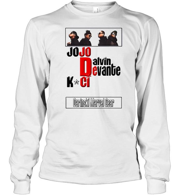 Jodeci The Bad Boys Of R&B T-shirt Long Sleeved T-shirt