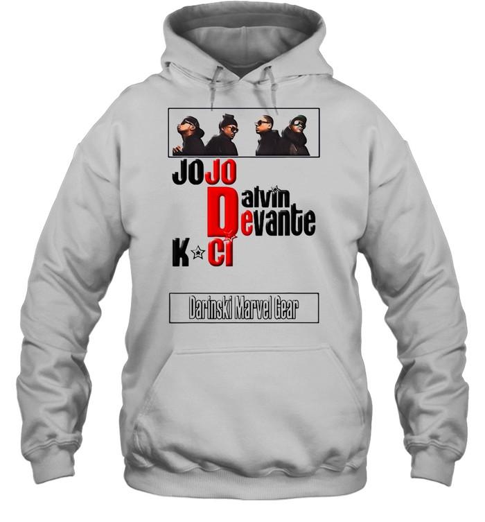 Jodeci The Bad Boys Of R&B T-shirt Unisex Hoodie