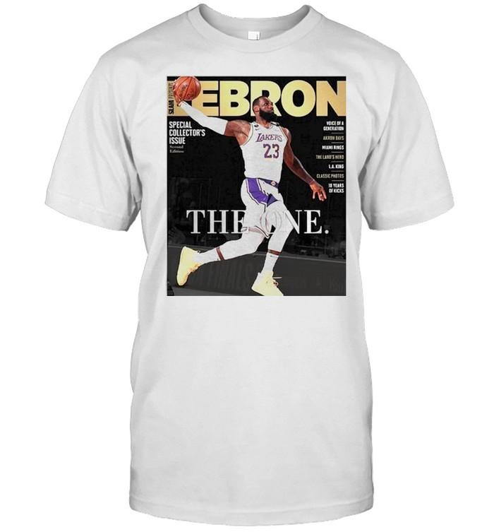 Lebron James the one shirt