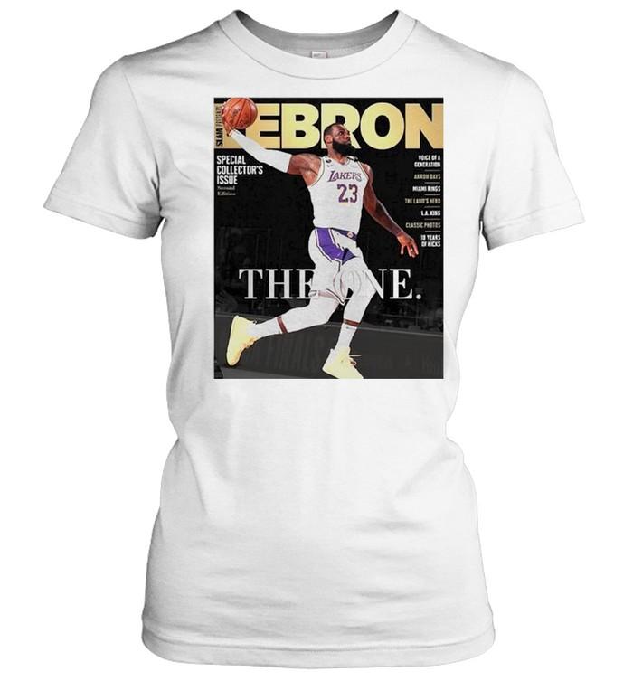 Lebron James the one shirt Classic Women's T-shirt