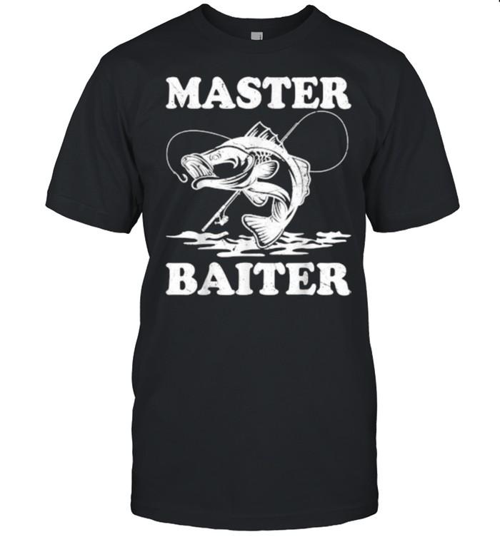 Master Baiter Fishing Lover Funny T-Shirt