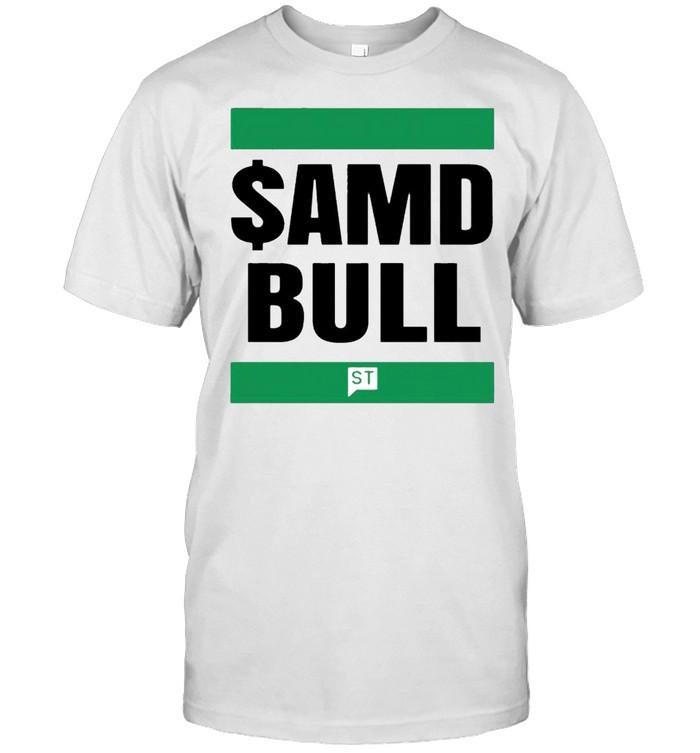 $AMD bull shirt