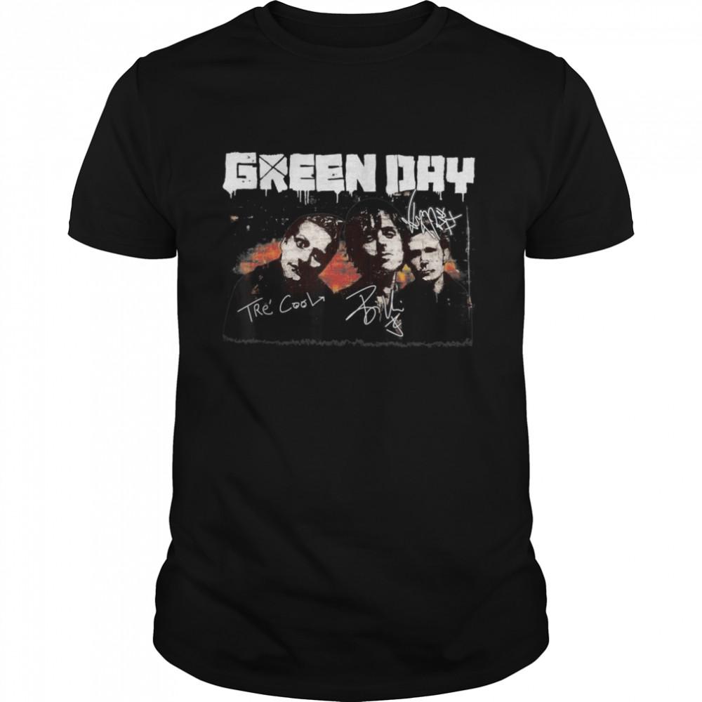 Vintage Greens Days Art Band Music Legend Limited Design shirt