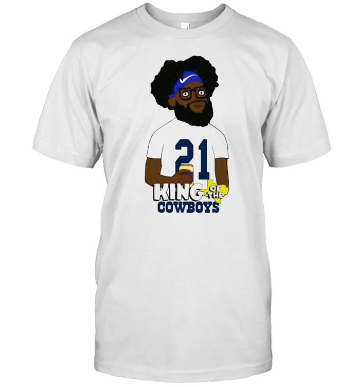 Ezekiel Elliott king of the Cowboys shirt