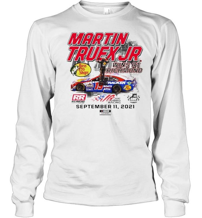 Martin Truex Jr. wins at richmond shirt Long Sleeved T-shirt