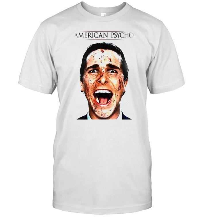 Patrick Bateman American Psycho movie shirt