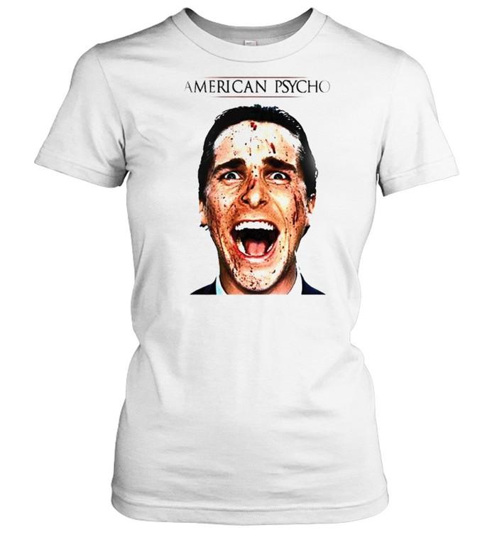 Patrick Bateman American Psycho movie shirt Classic Women's T-shirt