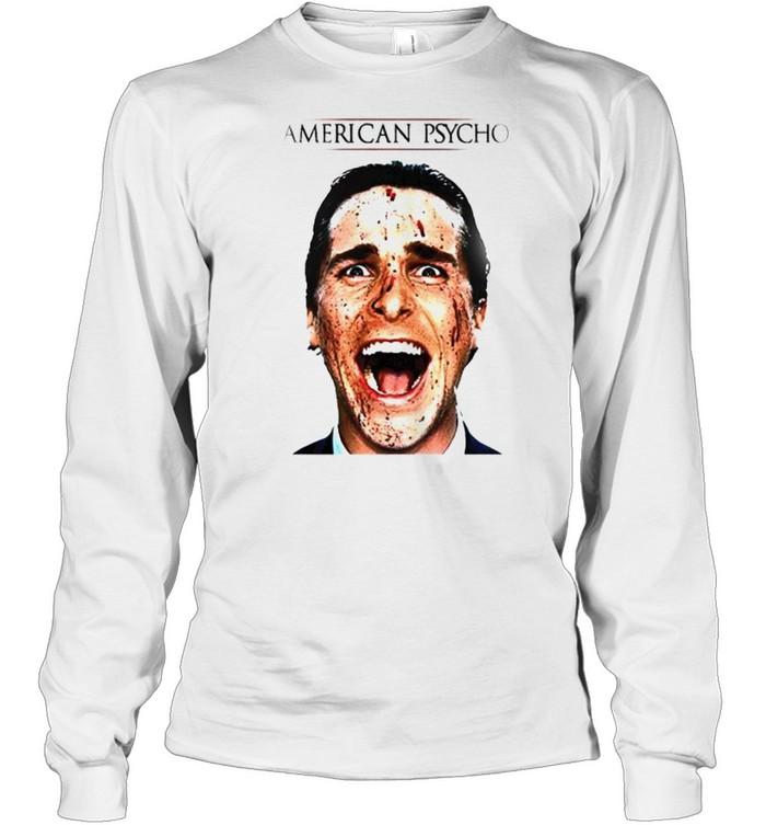Patrick Bateman American Psycho movie shirt Long Sleeved T-shirt
