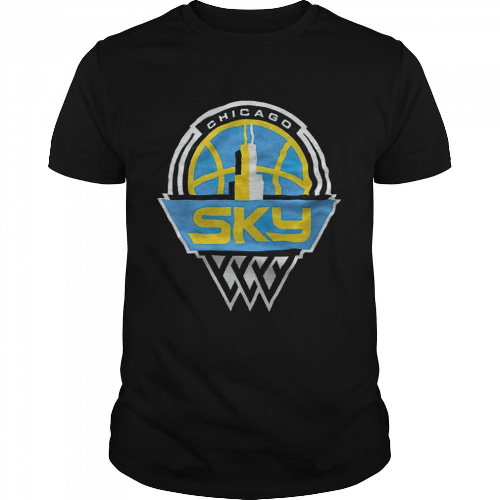 WNBA Chicago Sky Fanatics Branded Primary logo shirt